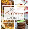 20+ Holiday Favorite Recipes