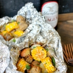 Grilled Sausage Foil Packs