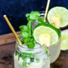 Pineapple Mojitos (with Simple Syrup recipe)