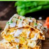 Buffalo Chicken Quesadillas (Grilled)