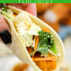 Ginger Sesame Fish Tacos