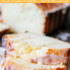 Glazed Orange Bread