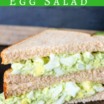 Avocado Egg Salad (No-Mayo)