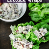 Easy Chicken Salad Lettuce Wraps