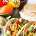 Easy Tacos with Homemade Tortillas with Rotimatic
