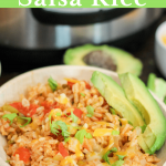 Instant Pot Salsa Rice