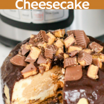 Instant Pot Peanut Butter Cheesecake