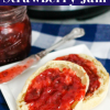 Instant Pot Strawberry Jam (no pectin)