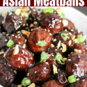 Instant Pot Asian Meatballs