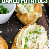 Instant Pot Baked Potatoes (with Crispy Skins!!)