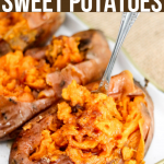 Instant Pot Sweet Potatoes (with crispy skin hack)