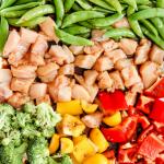 Sheet Pan Asian Chicken & Vegetables (One Pan)