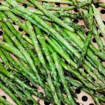 Air Fryer Roasted Asparagus (2 ingredients)