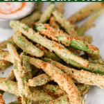Air Fryer Green Bean Fries (no oil recipe)
