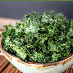 Air Fryer Kale Chips (healthy recipe)