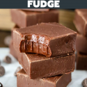 Chocolate Fudge (3 Ingredients)