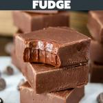 Chocolate Fudge (3 Ingredients)