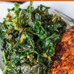 Sautéed Kale (easy healthy recipe)
