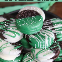 Chocolate Covered Oreos (St. Patrick's Day)