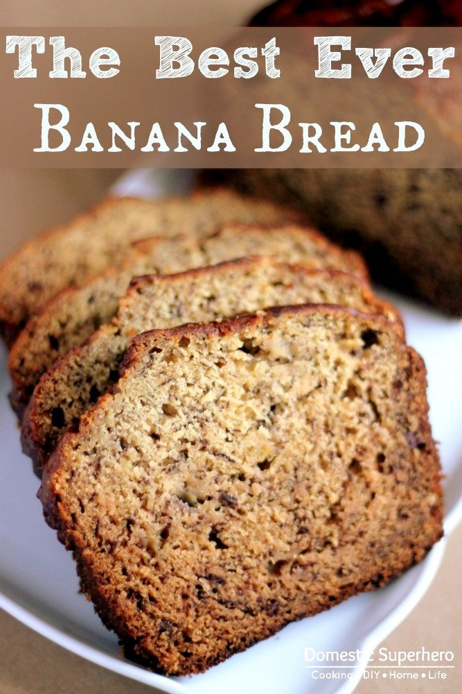 Best Banana Bread And Muffins Domestic Superhero