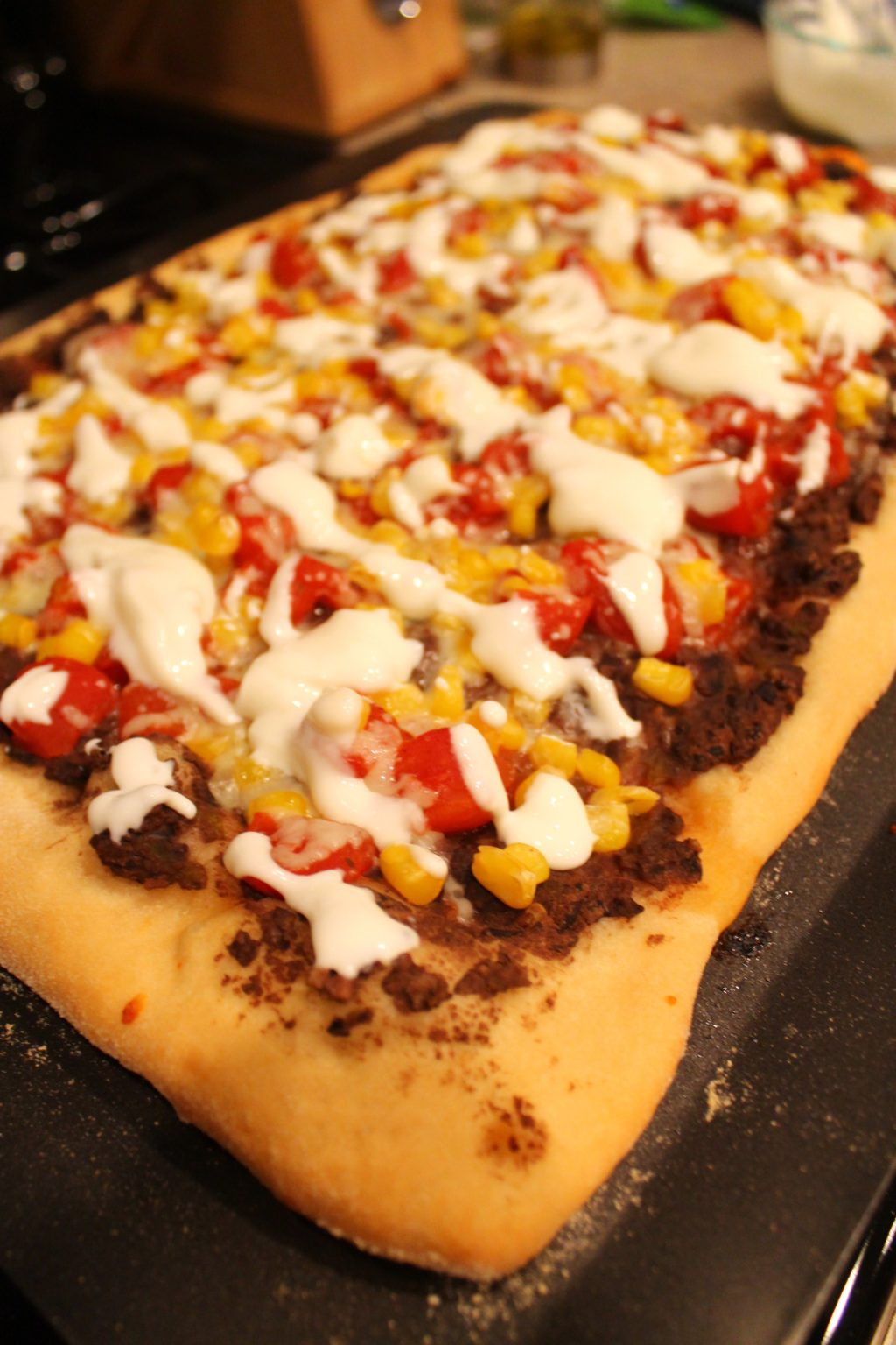 Southwestern Pizza - Domestic Superhero