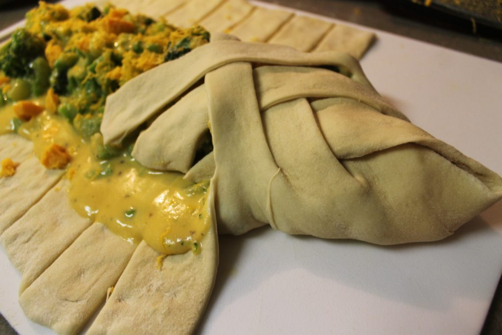 Broccoli and Cheese Calzone 3