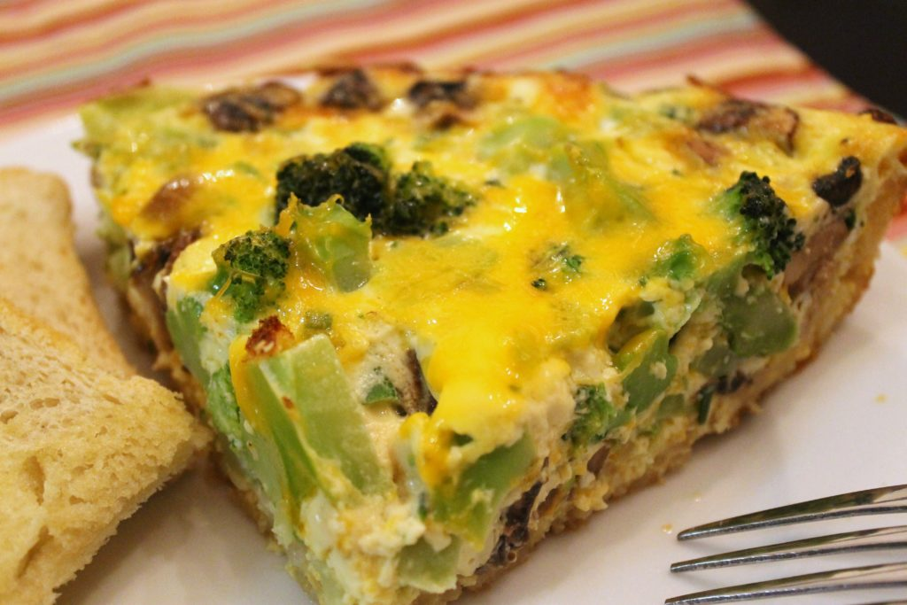 broccoli tofu stir fry with brown rice broccoli and cheddar quiche ...