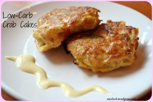 Low Calorie Low Carb Crab Cakes