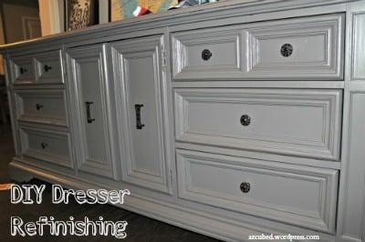 DIY Dresser Refinishing!