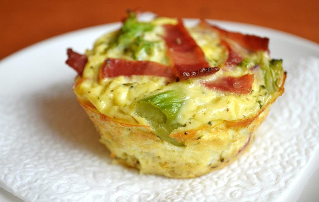 Broccoli, Bacon & Egg Cups