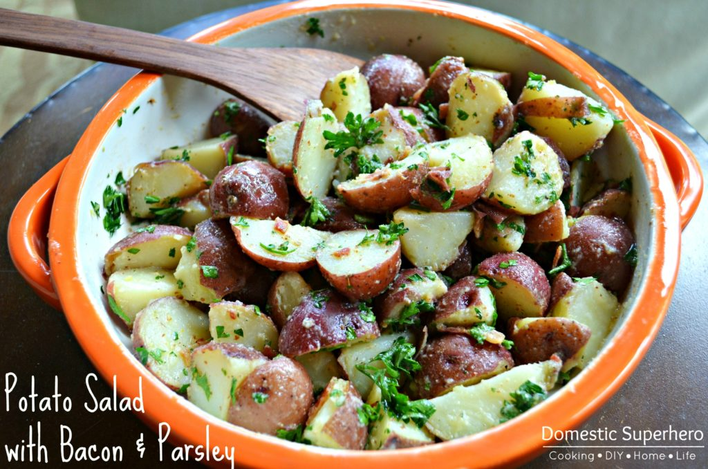 Potato Salad with Bacon and Parsley