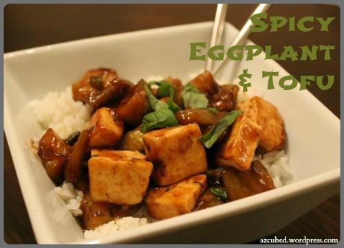 Spicy Eggplant and Tofu