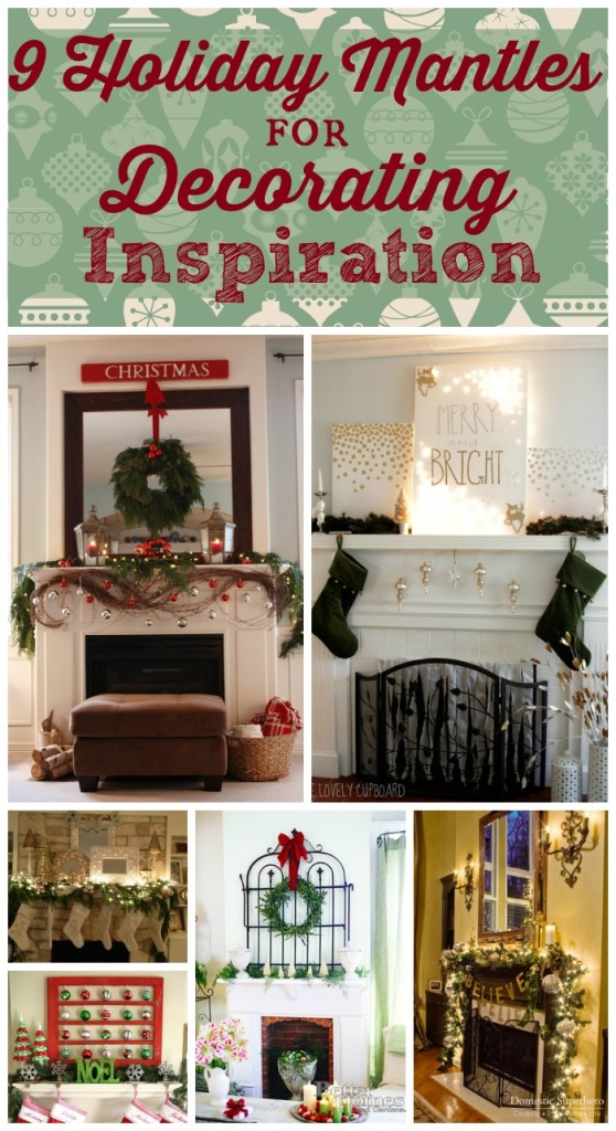 9 Holiday Mantles for Decorating Inspiration
