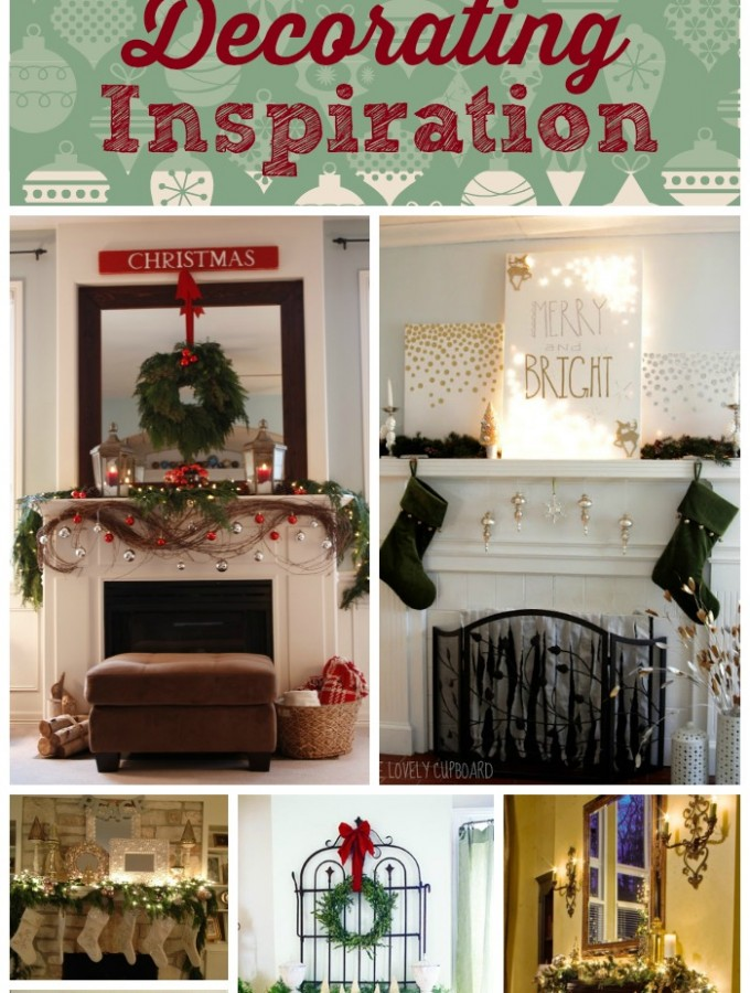 A Christmas Mantle Collection