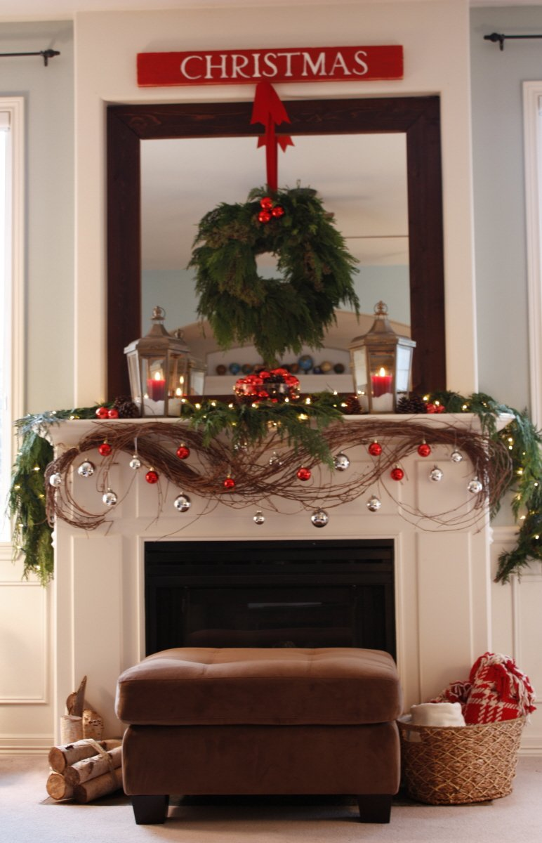 A Christmas Mantle Collection Domestic Superhero