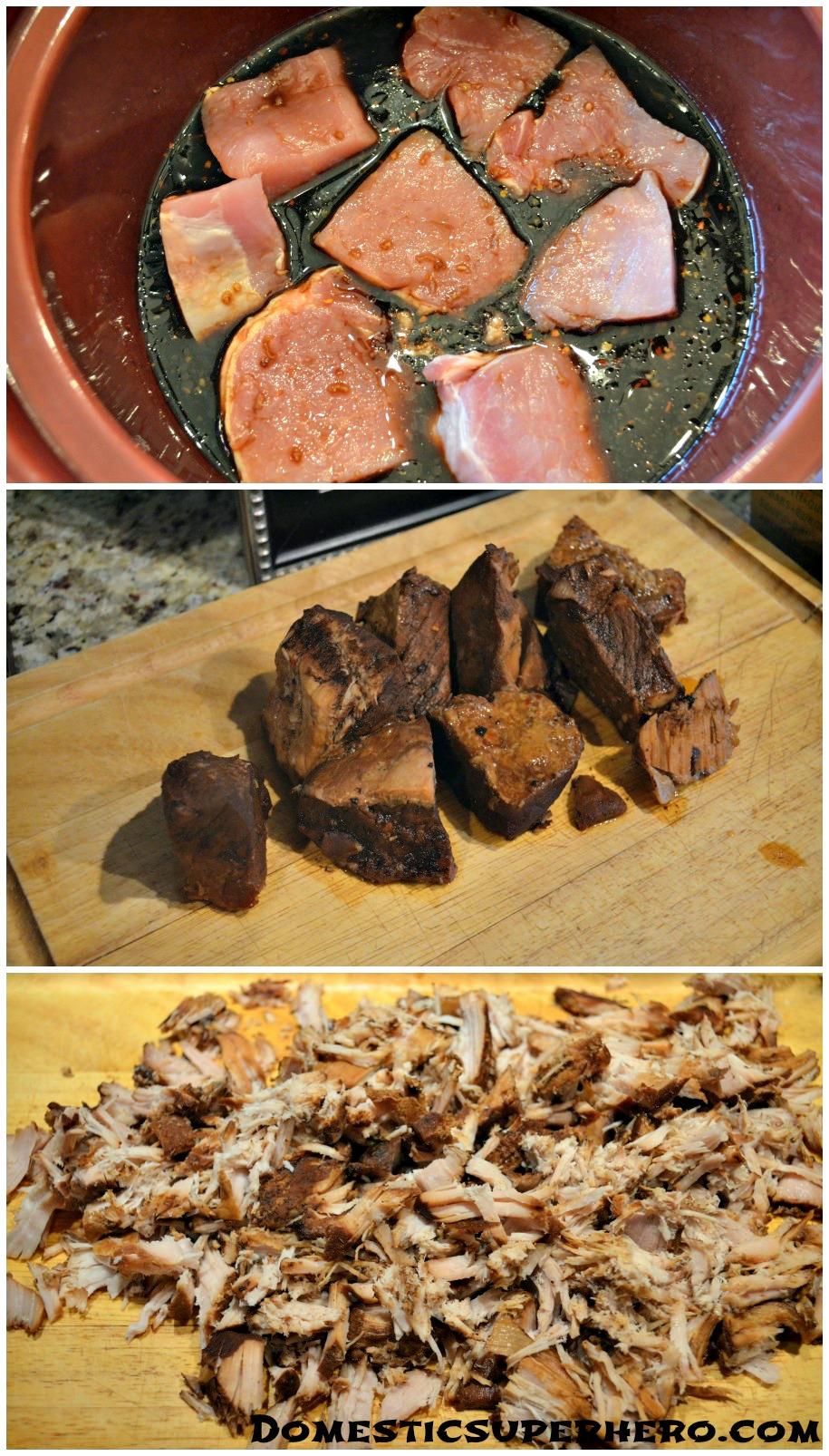 Crock Pot Asian Pork with Mushrooms - Domestic Superhero