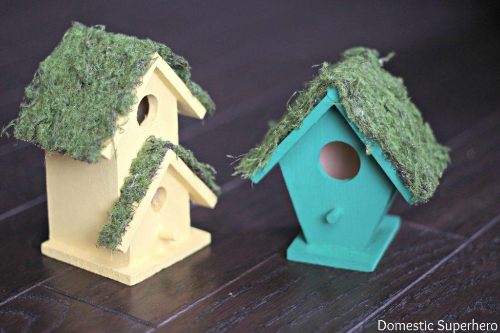 Diy Birdhouse Diy Moss Birdhouses Domestic Superhero