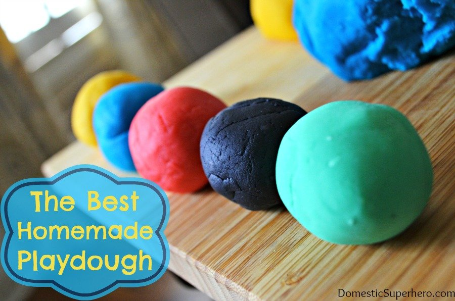 The Best Homemade Playdough in the World Recipe