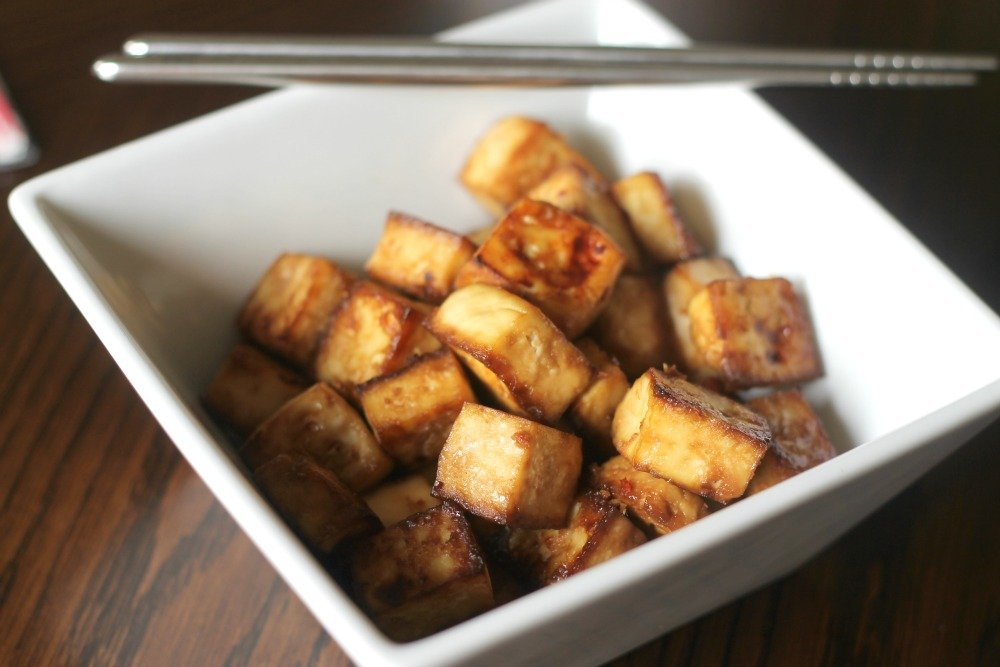 Easy Baked Tofu - Domestic Superhero