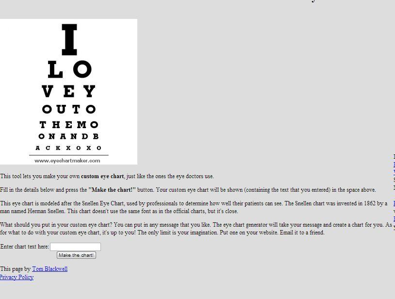 Diy Photo Eye Chart Art With Tutorial Domestic Superhero
