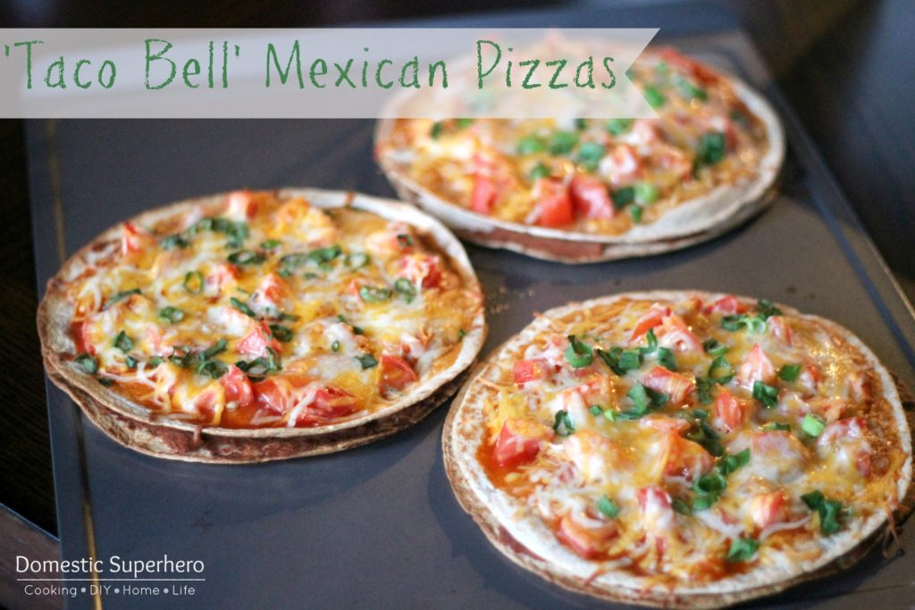 Taco Bell' Mexican Pizzas