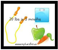 lose 20 pounds in 3 months