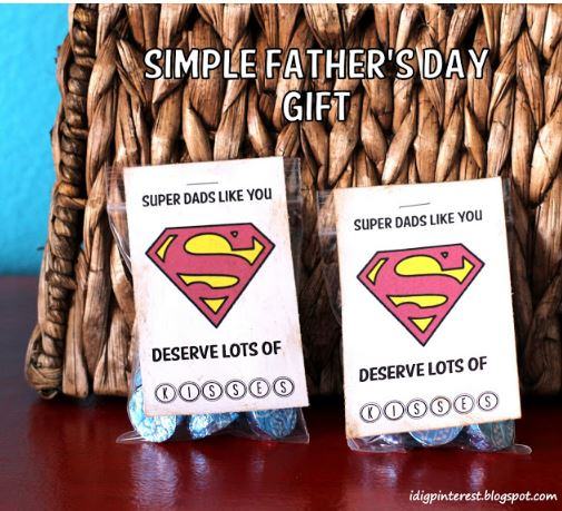 Superdad Free Printable
