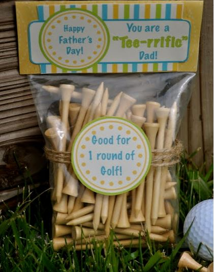 Father's Day Golf Idea