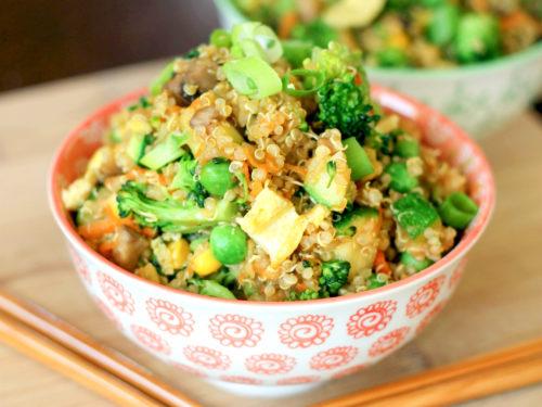 Quinoa Fried Rice One Pot Domestic Superhero