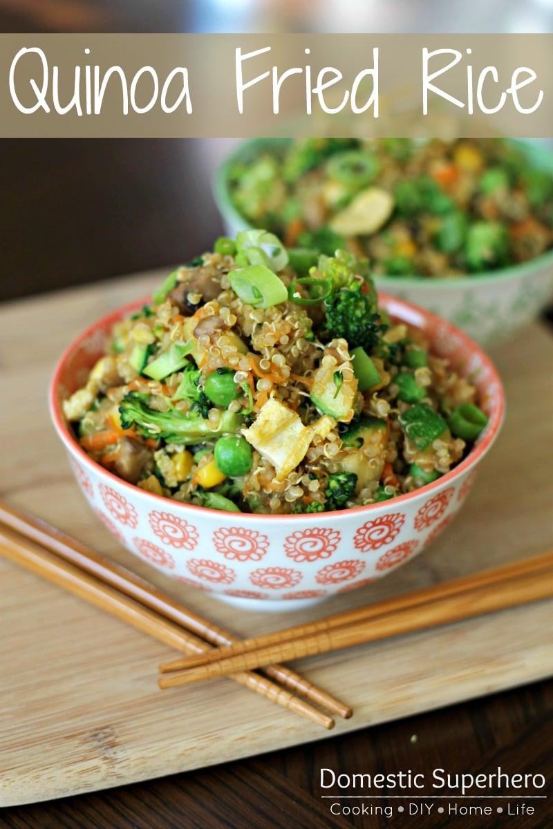 Quinoa 'Fried Rice'