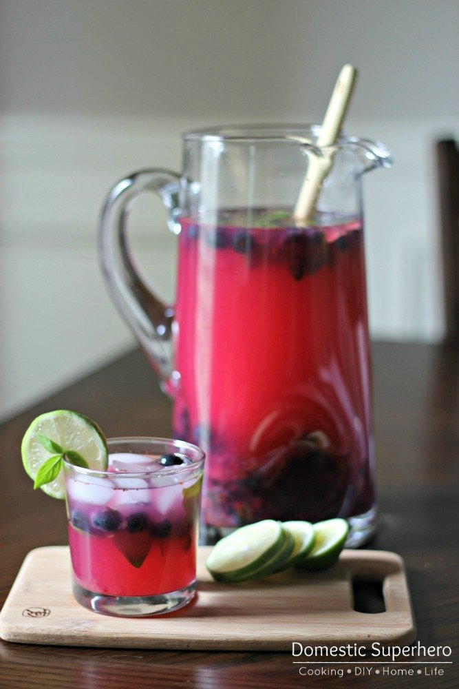 Blueberry Basil Margarita 2
