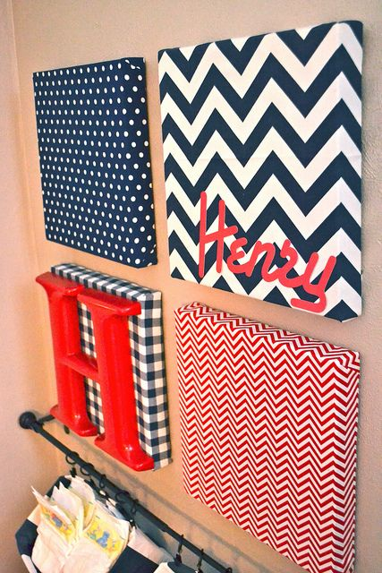 DIY Nursery Wall Art and a Nursery Tour : diy kids wall art - www.pureclipart.com