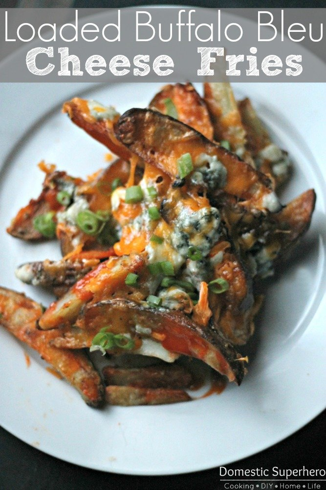Loaded Buffalo Bleu Cheese Fries