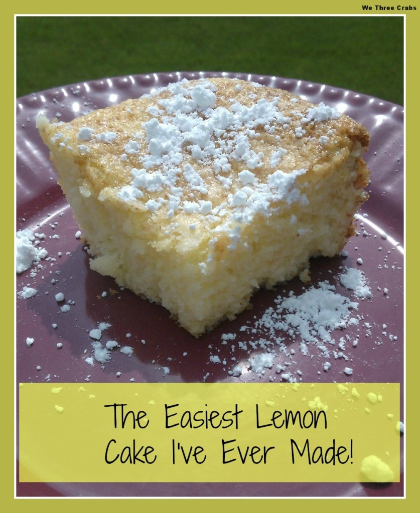 The Easiest Lemon Cake I Have Ever Made
